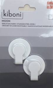 Bilde av Limkrok Moon Liten Hvit (2 stk)