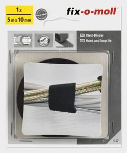 Bilde av Borrelås kabel Sort (5mx10mm)