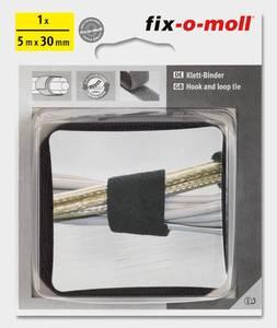 Bilde av Borrelås kabel Sort (5mx30mm)