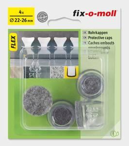 Bilde av Stolbenhylse Flex med filt 22-26mm (4 stk)