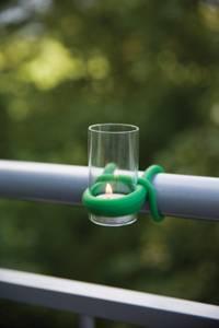 Bilde av Lyslykt / Telysholder for veranda Grønn