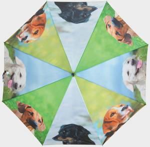 Bilde av Paraply Hunder mix  (Ø120 cm/95 cm)