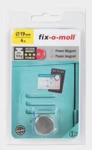 Bilde av Magnet disc Ø19mm 4 stk max 10kg