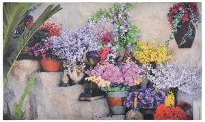 Bilde av Dørmatte Blomstertrapp