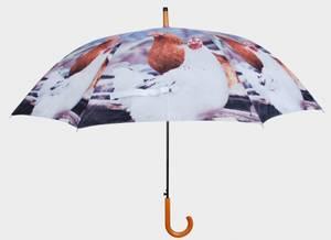 Bilde av Paraply Høner (Ø120 cm/95 cm)