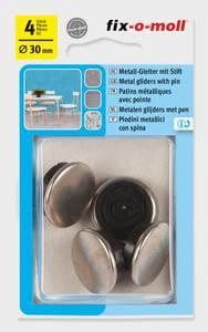 Bilde av Metall m stift 30mm (4 stk)