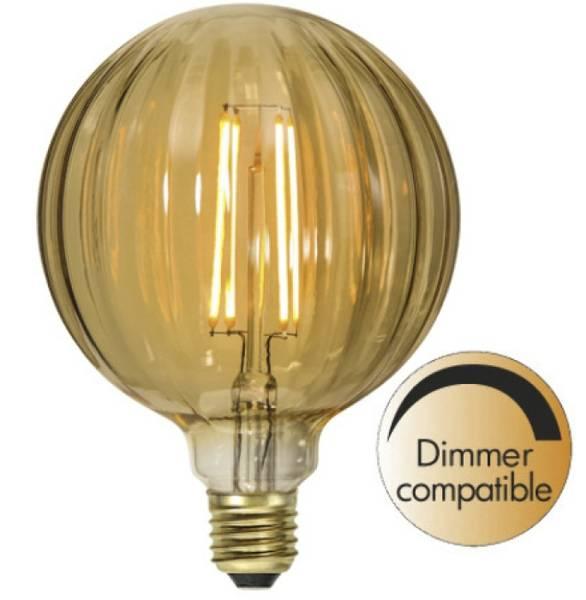 Bilde av Decoration Globe Ø 125mm amber E27 2,5W 2000K