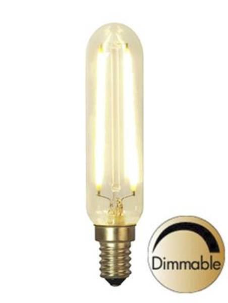 Bilde av Decoration LED Rørform klar E14 2,5W 2200K 150lm