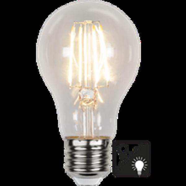 Bilde av Illumination Normal Klar lyssensor E27 7W 2700K