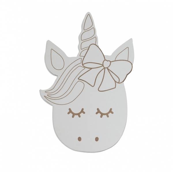 Bilde av Emma unicorn lamp white