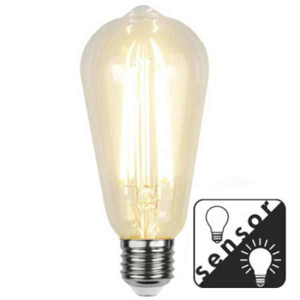 Bilde av Decoration Lanterne LED Klar lyssensor E27 4,2W
