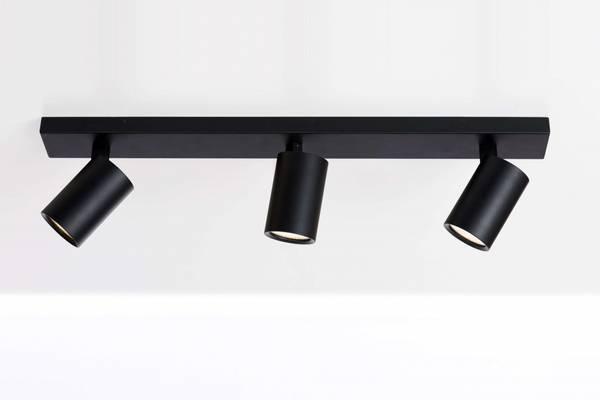 Bilde av Trino spotskinne IP44  svart