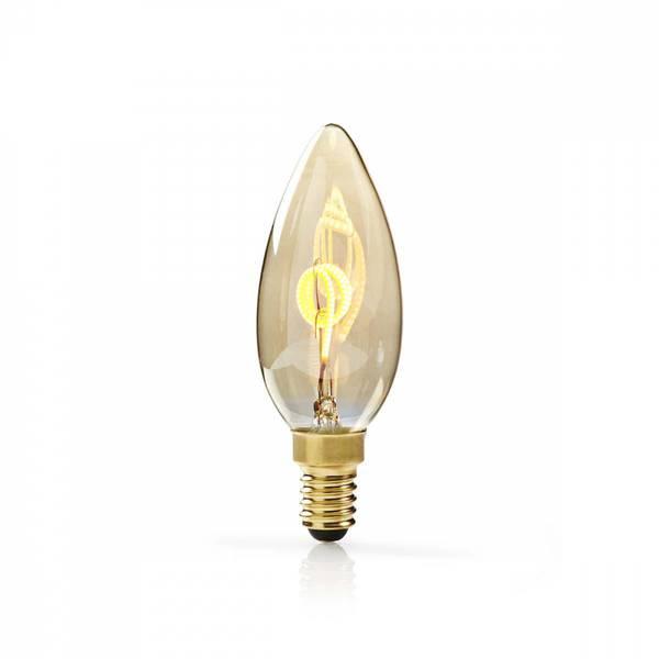 Bilde av Dimbar LED-lampe retro filament, E14 | Stearinlys