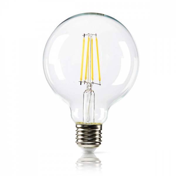 Bilde av Dimbar LED-lampe retro filament, E27 | G95 | 8,3