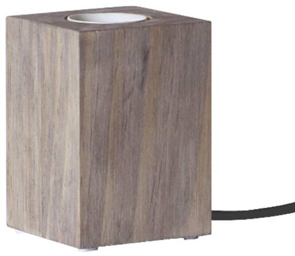 Bilde av LYS lampeholder i tre 10cm E27 brun