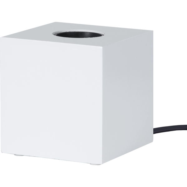 Bilde av KUB lampeholder 9 x 9 cm E27 hvit