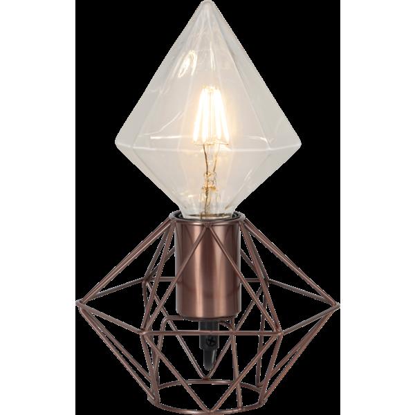 Bilde av EDGE lampeholder E27 kobber 17cm
