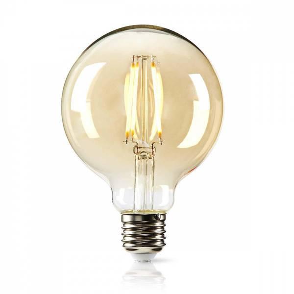 Bilde av Logo Nedis Sammenligne LED-lampe retro filament,