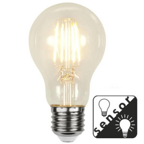 Bilde av  Decoration Normal LED klar lyssensor E27 4,2W