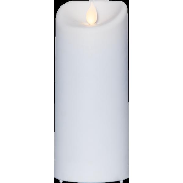 Bilde av M-twinkle kubbelys 17,5cm