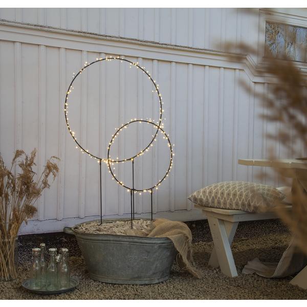 Bilde av BARLUMI ring Ø60cm,120 cm høy dekorasjon ute