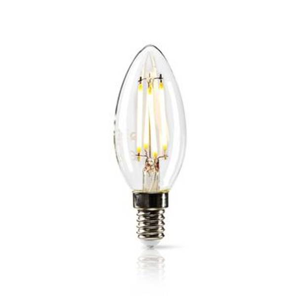 Bilde av Dimbar LED-lampe retro filament E14 | Stearinlys