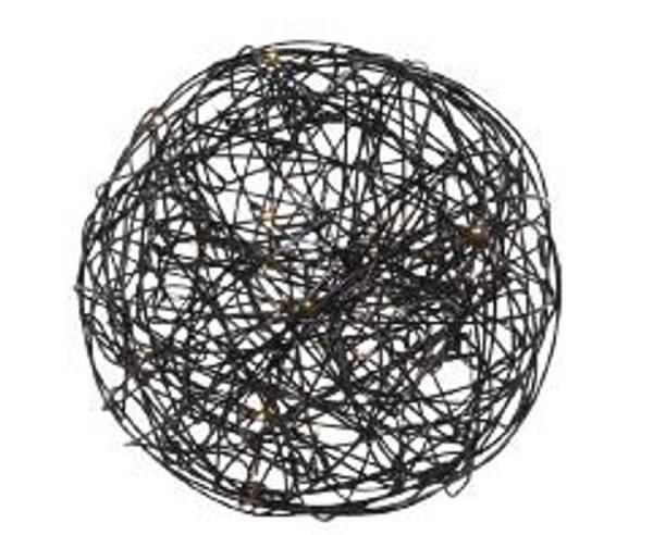 Bilde av TRASSEL Ball 30 cm inne/ute svart