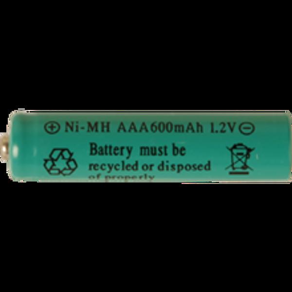 Bilde av Batteri: AAA 1,2V Ni-mh 600mAh oppladdningsbart