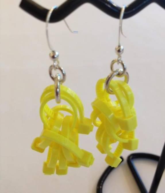 Bilde av Lys gul strips