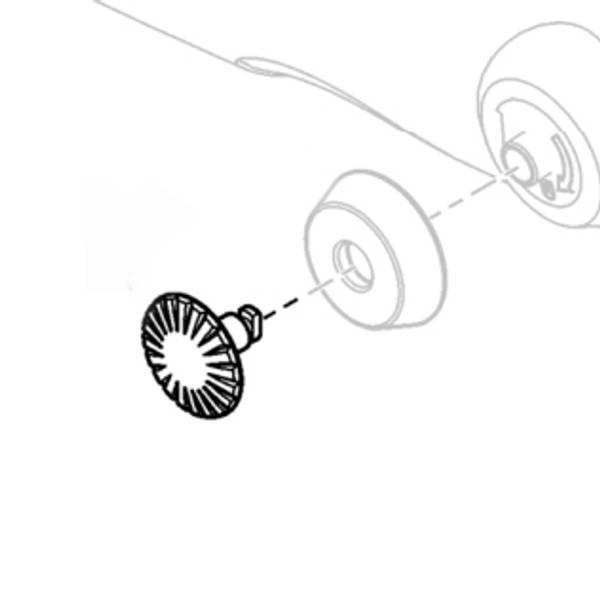 Swarovski lås for nakkereimfeste (for EL WB, EL Range WB/TA & NL