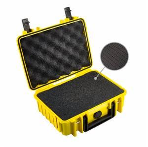 Bilde av BW Outdoor Cases Type 1000 (gul) m/ skuminnlegg