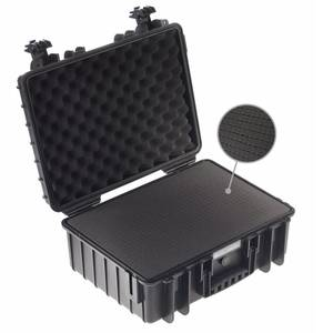 Bilde av BW Outdoor Cases Type 6000 (sort) m/ skuminnlegg