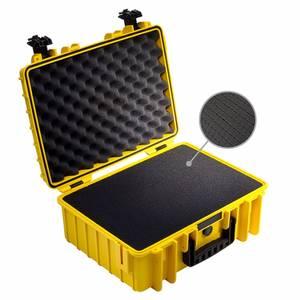 Bilde av BW Outdoor Cases Type 5000 (gul) m/ skuminnlegg