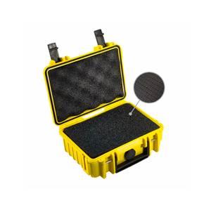 Bilde av BW Outdoor Cases Type 500 (gul) m/ skuminnlegg