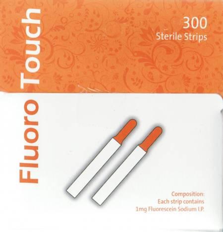 300 Strimler - Fluorescein