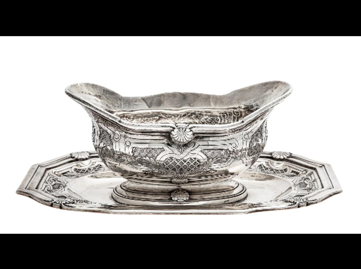 Sausenebb i sølv