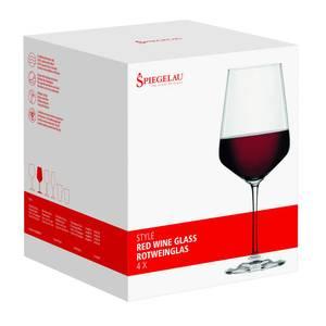 Bilde av SPIEGELAU Style Red Wine Glass sett, 4 pk