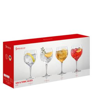 Bilde av SPIEGELAU Gift Set Gin & Tonic Glass Set, 4 pk