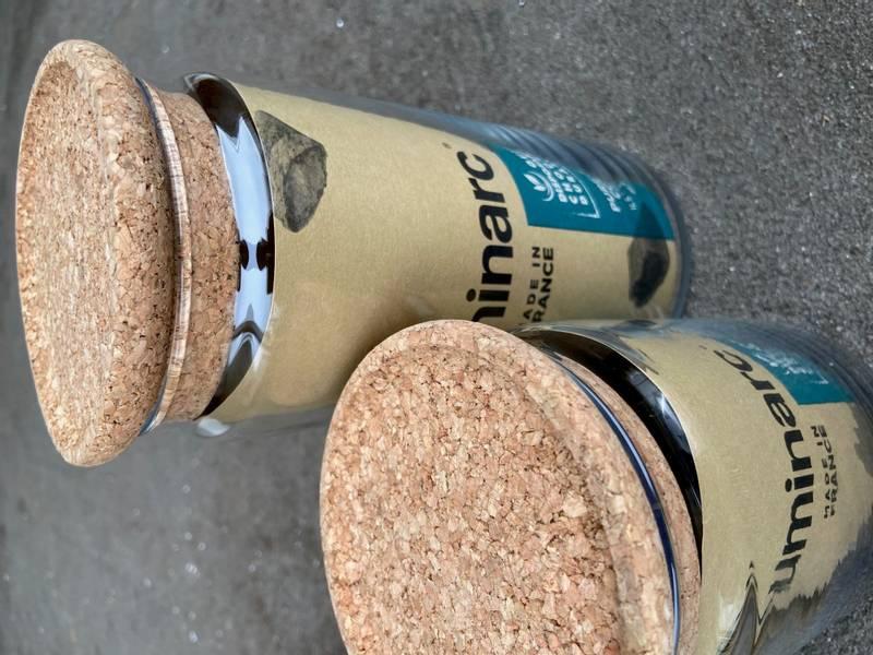 ARC Pure Jar Kork 0,75 liter med lokk