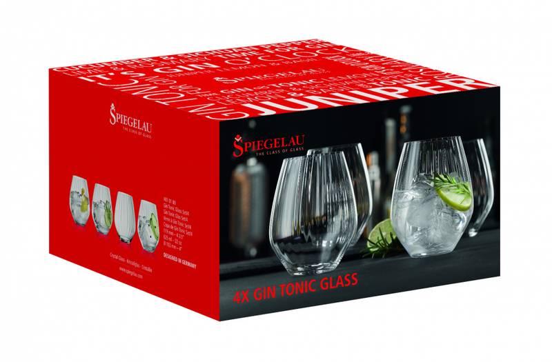 SPIEGELAU Stemless Gin&Tonic Set, 4pk