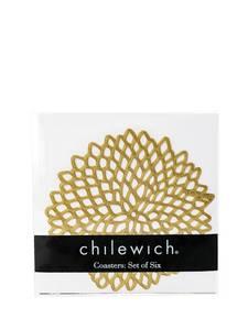 Bilde av CHILEWICH Pressed Dahlia Glassunderlag 6pk 12.7 x 12.7 cm