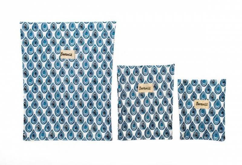 BEEBAGZ Start Pack Blue, 1 Small, 1 Medium, 1 Large i 3pk