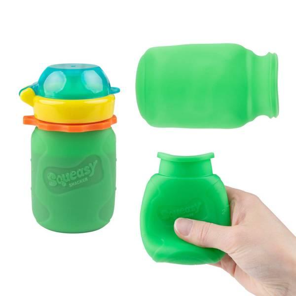 SQUEASY Snacker 3.5oz Green