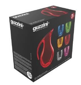 Bilde av GUZZINI AQUA Sett med 1 Mugge og 6 plastglass, forskjellige