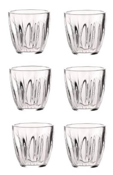 GUZZINI AQUA Sett med 1 Mugge og 6 plastglass, klar
