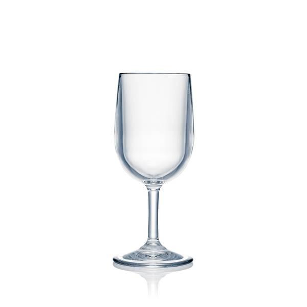 STRAHL Vinglass (245 ml) i polykarbonat, 4pk