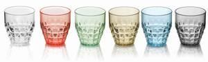 Bilde av GUZZINI Tiffany Plastglass, 6 pk forskjellige farger