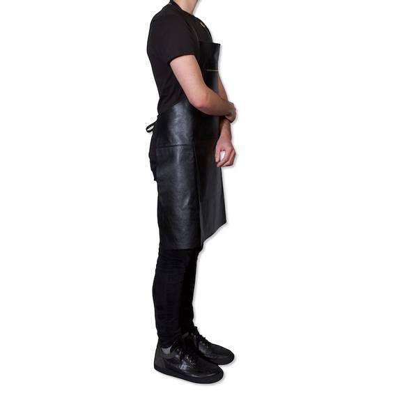 DUTCHDELUXES Zipper Style Forkle, skinn, black
