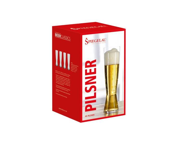 SPIEGELAU Beer Classics Pilsner Set, 4 pk