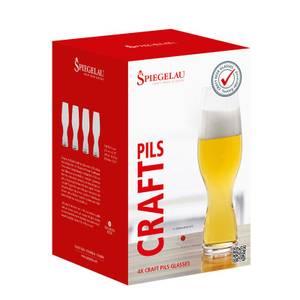 Bilde av SPIEGELAU Craft Beer Glasses Craft Pils Set, 4 pk